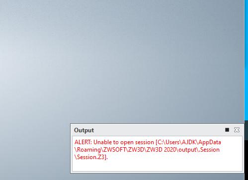 ZW3D fails when windows sleeps